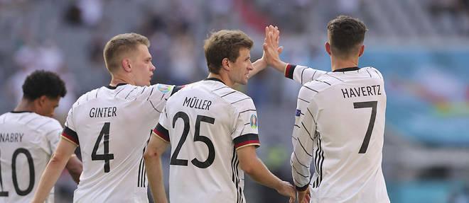 Euro 2020 : Les Allemands se reprennent face aux Portugais (4-2)