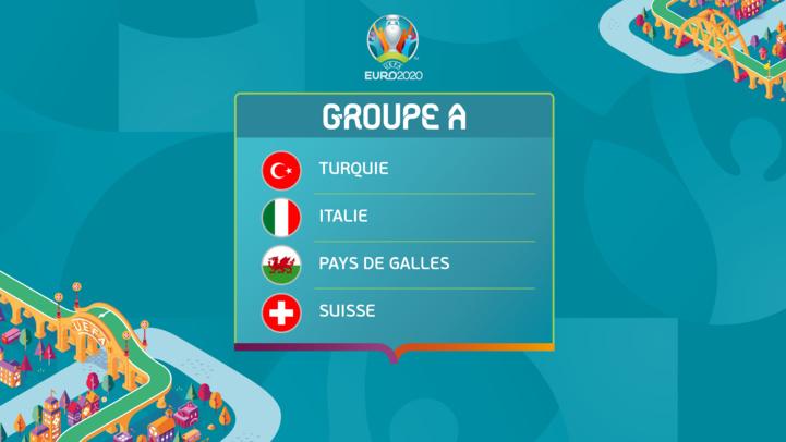 Euro 2020 : Ce dimanche, Italie-Pays de Galle et Suisse-Turquie