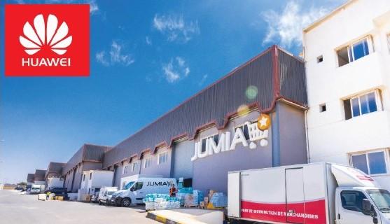 Jumia conclut un partenariat avec Huawei