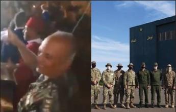Les Marines chantent la Marocanité du Sahara