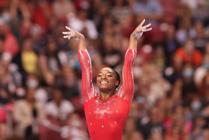 Gymnastique: Simone Biles qualifiée sans surprise pour les JO de Tokyo