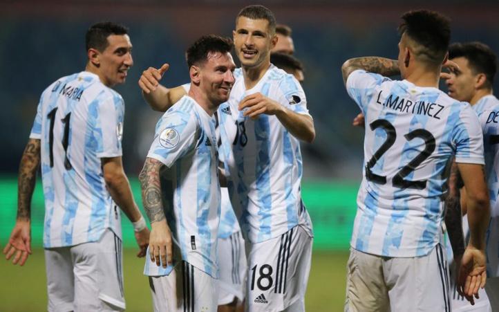 Copa America : l'Argentine écrase l'Equateur et passe en demi-finale