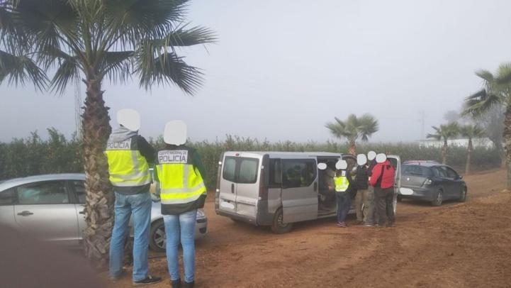 Huelva : deux agriculteurs espagnols accusés d'exploiter des Marocains