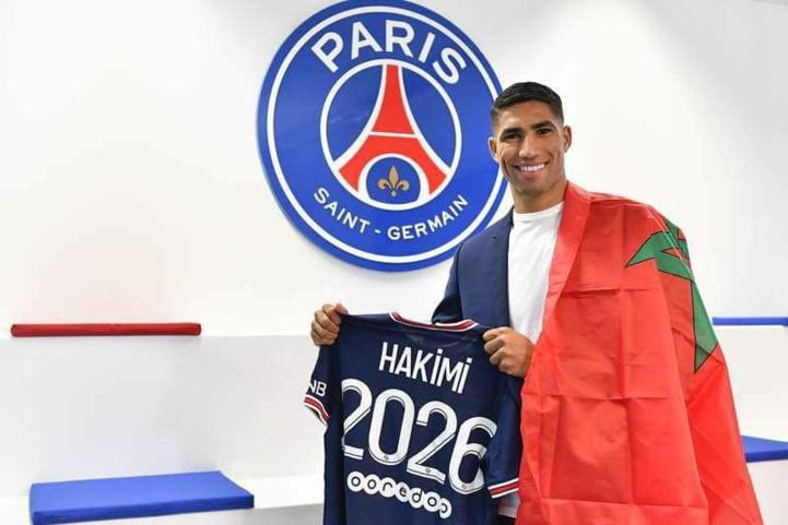 Transfert : Hakimi officiellement Parisien !