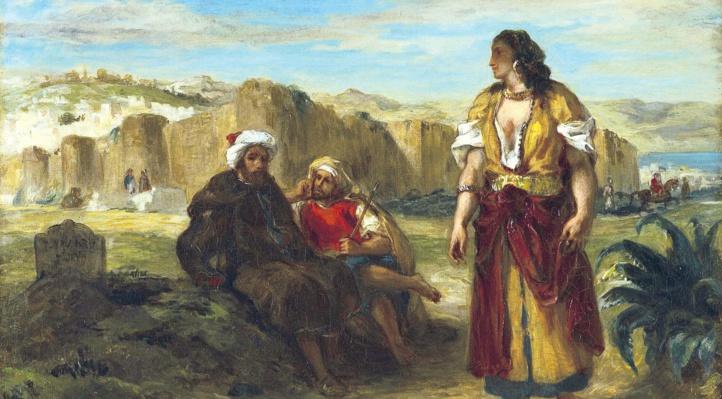 Delacroix, « Vues de Tanger ».