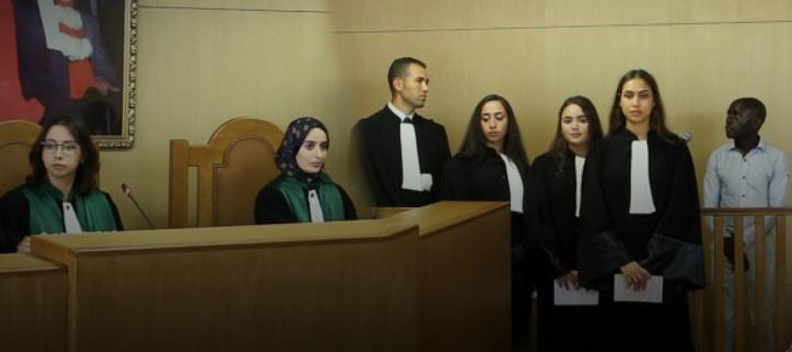 UM5 : Inauguration du tribunal de simulation au sein de la faculté de Droit Rabat-Agdal