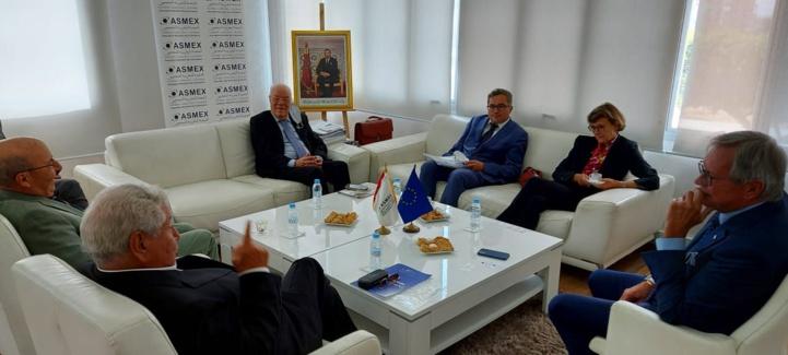 Pacte de Modernisation du Commerce et l'Investissement : L'ASMEX reçoit l'Ambassadeur de l'UE au Maroc