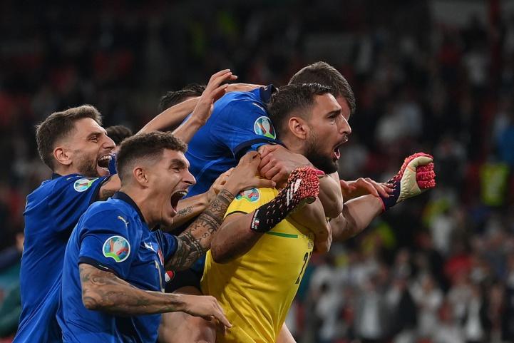 Finale de l'Euro 2020 : Les Italiens champions après les tirs au but