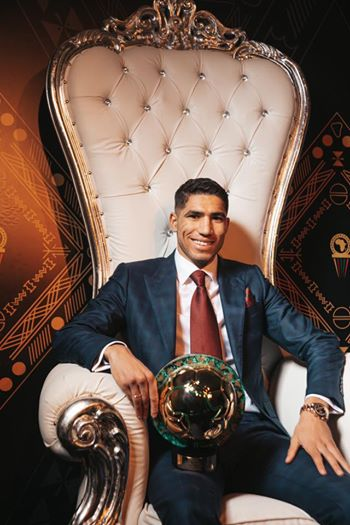 Hakimi possible ballon d'or africain !