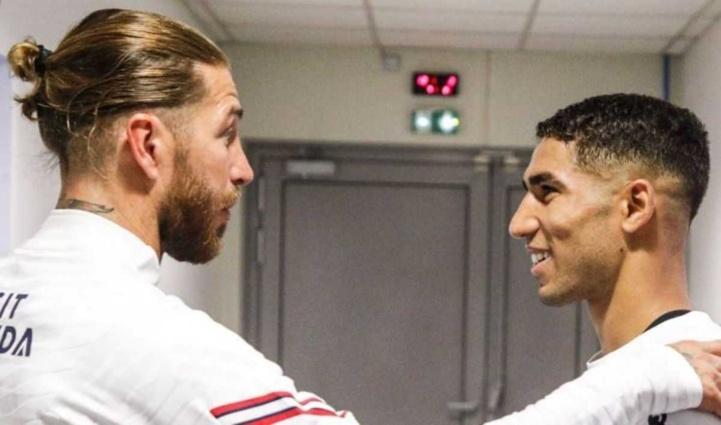 Les fans madrilènes en colère contre Ramos après sa phrase à Hakimi : « …Nous avons pris la bonne décision !... »