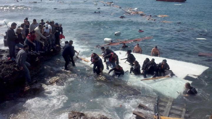 Migration : La Méditerranée, tombeau des migrants clandestins