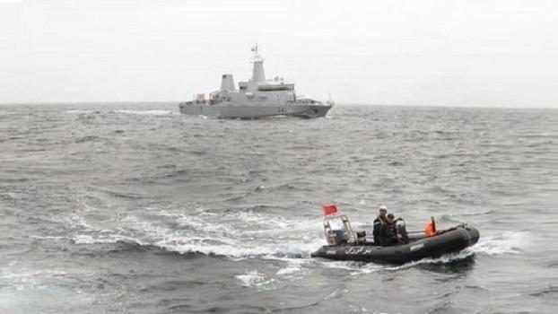 La Marine Royale porte assistance à un plaisancier espagnol en difficulté en mer