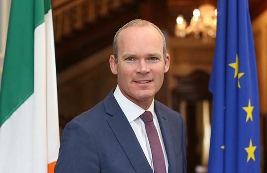 Simon Coveney, ministre irlandais des Affaires étrangères.