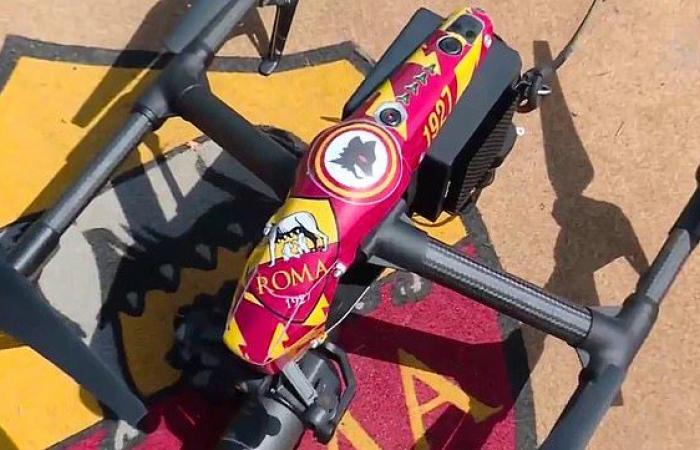 Mourinho débarque à Rome avec une nouvelle arme : Les drones à l'entrainement !