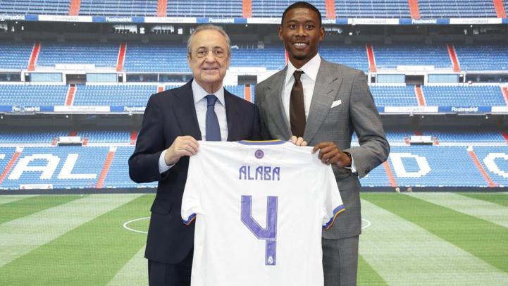 Real Madrid : David Alaba portera le numéro 4 de Ramos