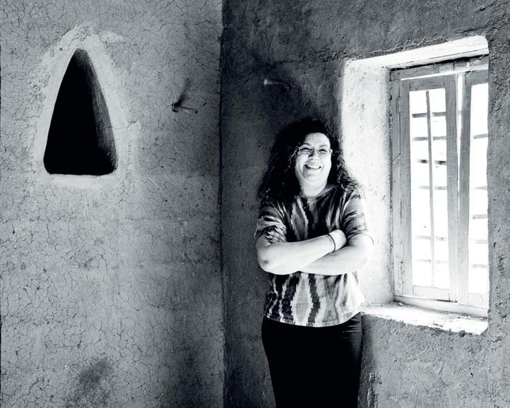 Khadija Alami provoque les opportunités, les traque. Ph. Khalil Nemmaoui