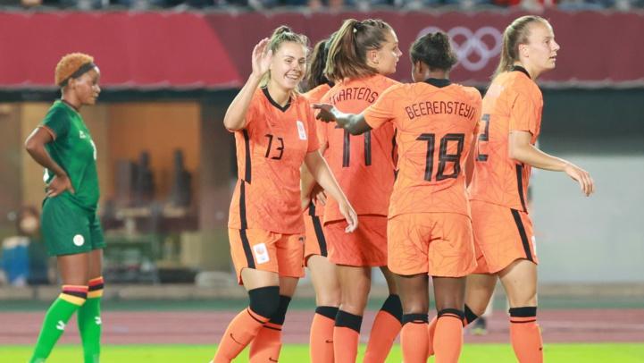 JO / Foot féminin : Les Pays-Bas sans pitié envers la Zambie (10 à 3)