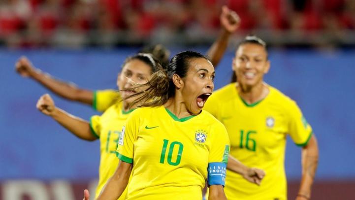 JO / Foot féminin : Un nouveau record pour la Brésilienne Marta !