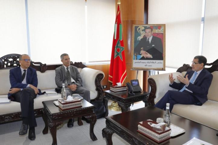 Le Chef du gouvernement, Saad Dine El Othmani en réunion avec des représentants de Transparency Maroc (ph. Archives)