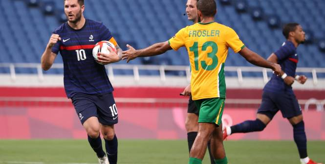 JO-Football : L'Afrique du Sud renversée par la France aux ultimes secondes (3-4) dans un match fou !