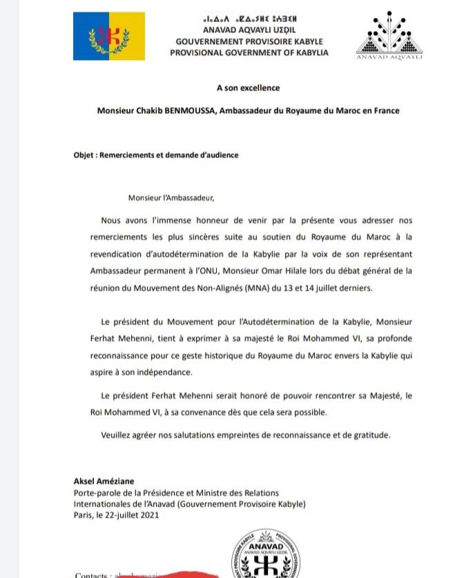 Kabyles : manifestations à Paris et gratitude au Maroc
