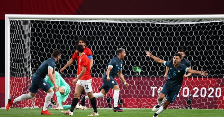 JO-Football : L'Egypte battue par l'Argentine (0-1)