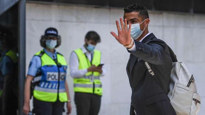 Juventus : Ce lundi, Ronaldo reprend les entrainements !