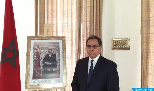 Mohamed Arrouchi, l'Ambassadeur Représentant permanent du Royaume auprès de l'UA et de la CEA-ONU