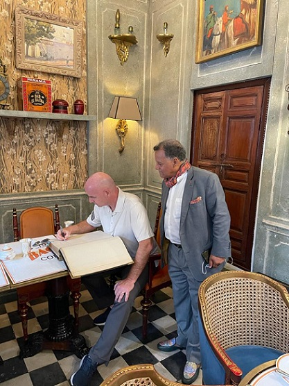 Gianni Infantino, président de la FIFA, visite le musée Dar El Bacha de  Marrakech - Algerie9.com - L'essentielle de l'info sur l'Algérie et le  Maghreb