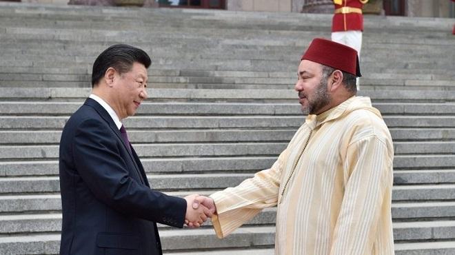 Fête du Trône : Message de félicitations du président chinois à SM le Roi