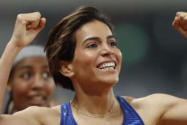 JO/Athlétisme :  Rabab Arafi qualifiée pour les demi-finales du 800m