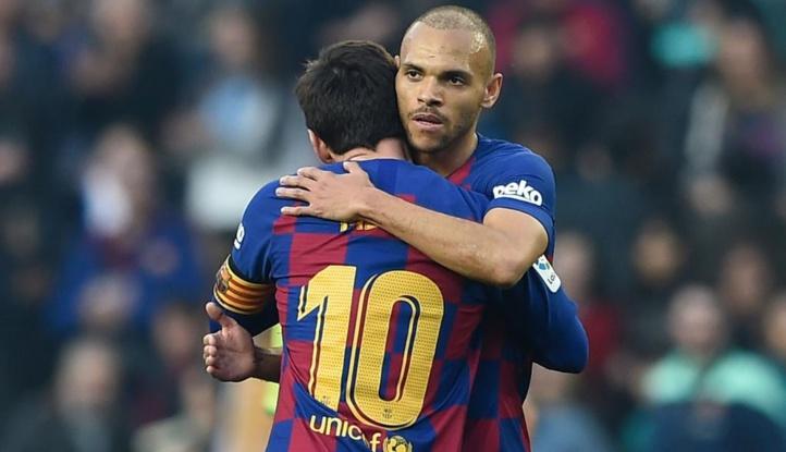 Barça : Braithwaite vers West Ham pour les pieds magiques de Messi !
