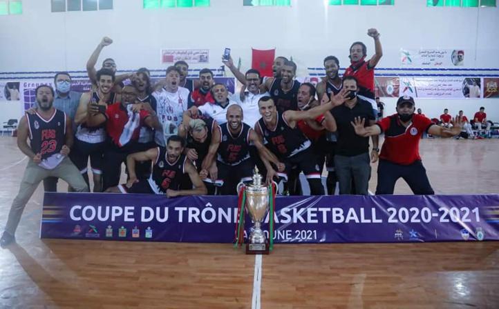 Basket-ball / Coupe du Trône (2020-2021) : Le FUS remporte le trophée