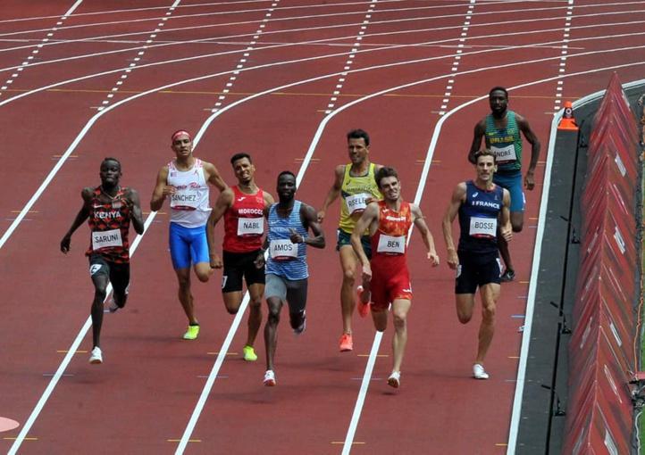 JO-2020/Athlétisme : Abdelati El Guesse et Nabil Oussama qualifiés pour les demi-finales du 800 m
