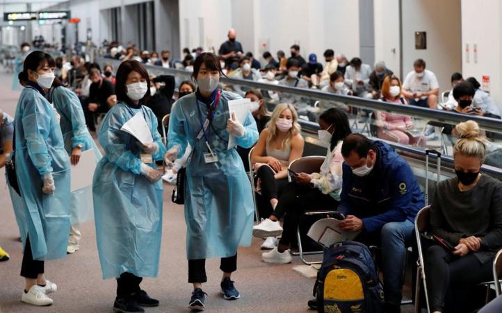 Covid-19: Records de contaminations à Tokyo, nouveaux foyers en Chine