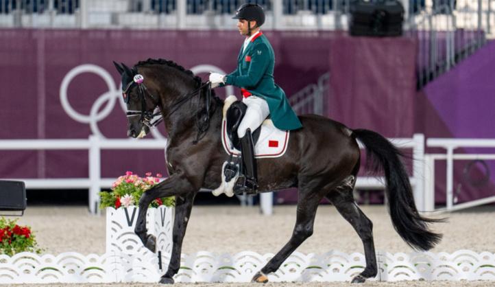 Sports équestres / Dressage : Honorable performance de Yessin Rahmouni aux JO
