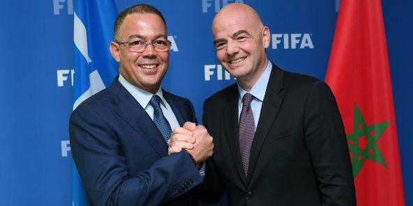 Fouzi Lekjaâ défend le projet FIFA : « Une coupe du monde tous les deux ans »