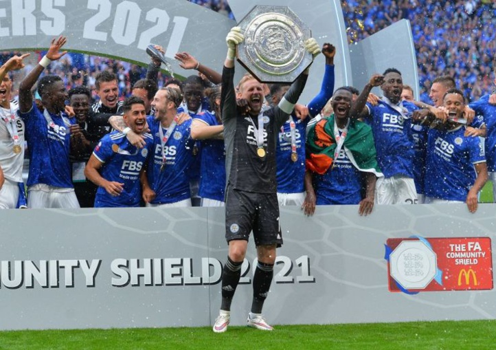 Foot anglais / Communty Shield : Leicester City  bat  Manchester City (1-0)