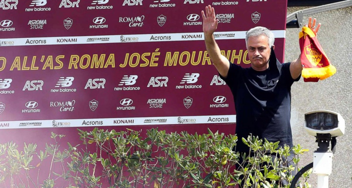 L'AS Roma de Mourinho reçoit le Raja de Rahimi samedi prochain