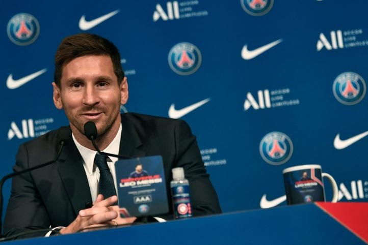 Conférence de presse de Messi : « Je vais jouer avec les meilleurs »
