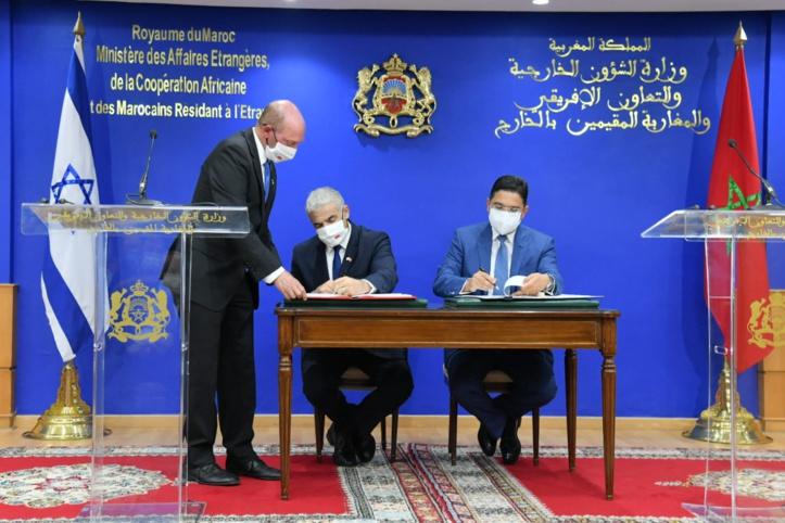 Voici le détail des 3 accords signés entre le Maroc et Israël
