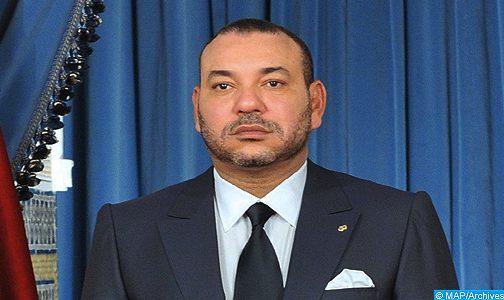 Message de condoléances et de compassion de SM le Roi à Abdellatif El Hammouchi suite au décès de sa mère
