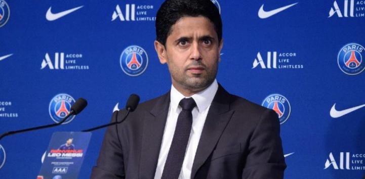 Nasser Al-Khelaïfi, président PSG : « Nous écrivons l'Histoire du football mondial »