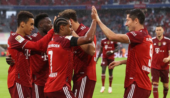 Bundesliga : Première victoire du Bayern