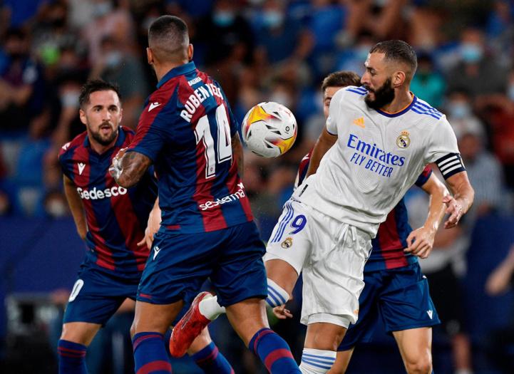 Liga : Un nul miraculeux du Real face à Levante (3-3)