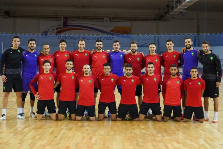 Mondial de futsal (Lituanie-2021) : L'équipe nationale en stage en Slovaquie