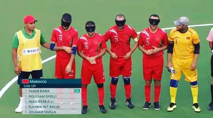Jeux paralympiques (Football à 5) : L'équipe nationale bat la Thaïlande (2-0)