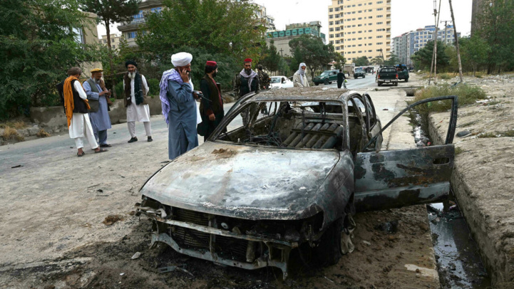 Afghanistan: Cinq roquettes sur l'aéroport de Kaboul interceptées par les Américains