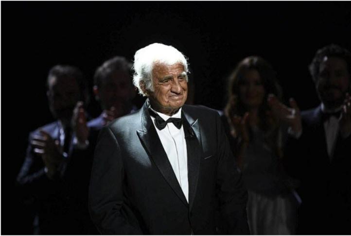 Jean-Paul Belmondo lors des César en 2004.