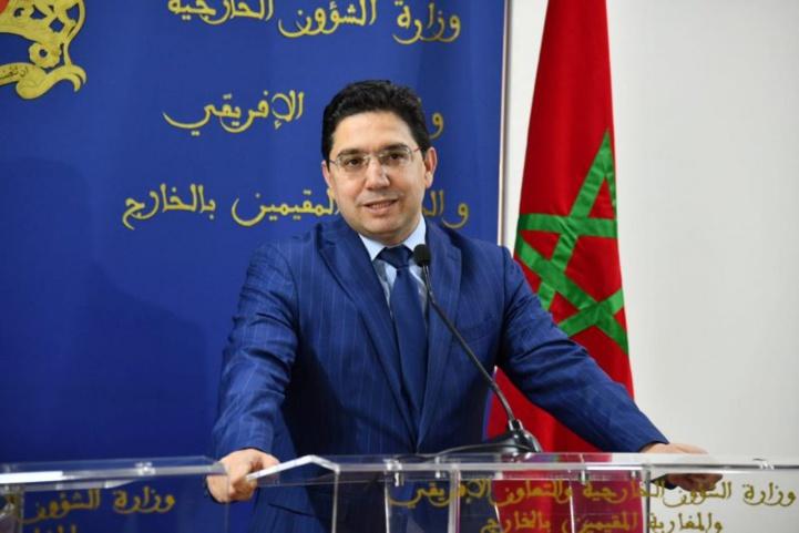 De nouveaux ambassadeurs présentent à Bourita les copies figurées de leurs lettres de créance